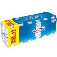 ACTIMEL LIQUID NATURAL 12X100ML