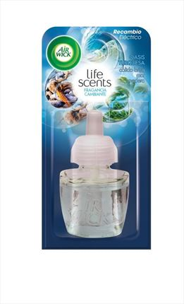 AIRWICK RECANVI ELECTRIC OASIS TURQUESA 19ML