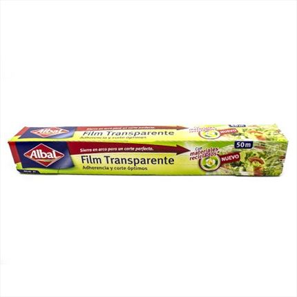 ALBAL FILM TRANSPARENT 30M