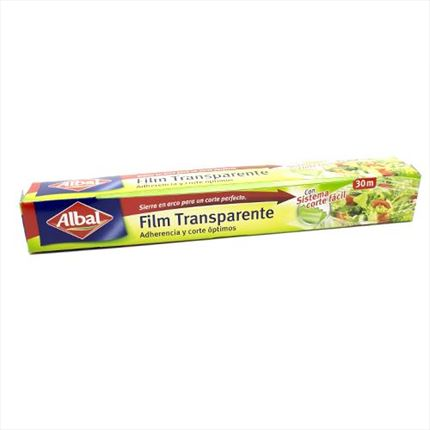 ALBAL PAPER FILM TRANSPARENT  30 METRES