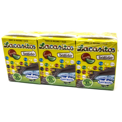 ASTURIANA BATUT CACAO LACASITOS 3X200ML