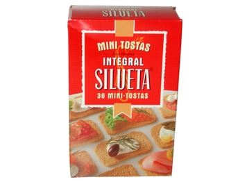 SILUETA MINI TOSTA INTEGRAL 100G