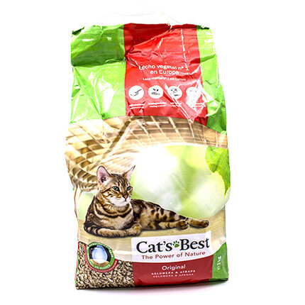 CAT'S BEST SORRA GATS LLIT VEGETAL 7L