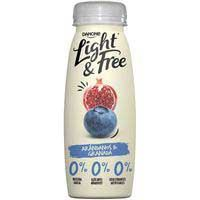 DANONE LIGHT&FREE DRINK NABIUS 250GR