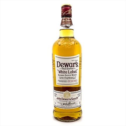 DEWAR'S WHITE LABEL 1L.