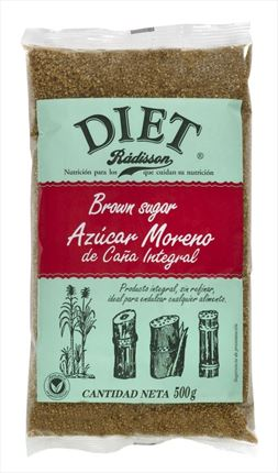 DIET SUCRE MORENO CANYA 500GR
