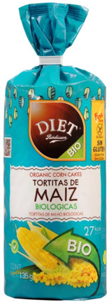 DIET TORTITES BLAT 135GR