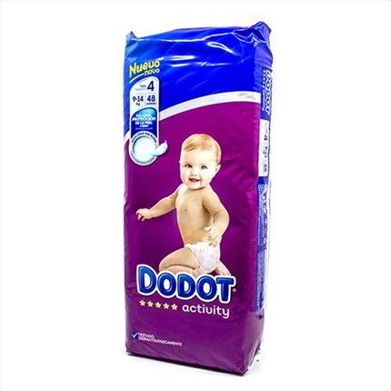 DODOT ACT.T4 8-14KG 48