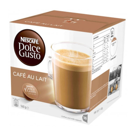 DOLCE GUSTO AMB LLET X16