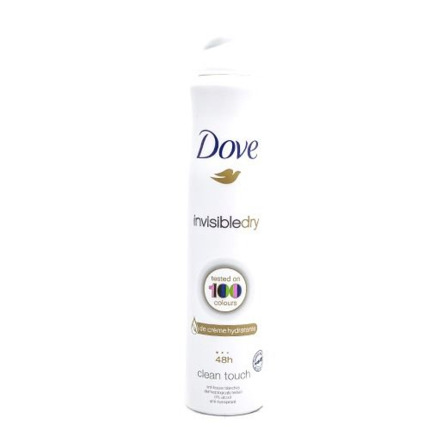DOVE DEO SPRAY INVISIBLE 200ML