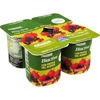 EROSKI IOGURT FRUITS VERMELLS X4
