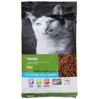EROSKI GATOS MIX SALMO/ 400GR