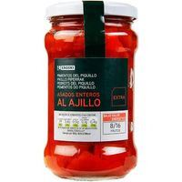 EROSKI PEBROT PIQUILLO AMB ALL 225GR