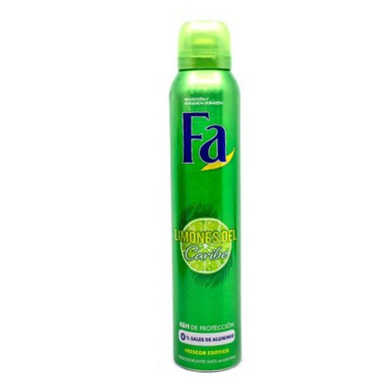 FA DESODORANT LLIMONES CARIB SPRAY 200ML