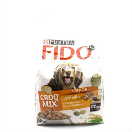 FIDO CROQ MIX SENIOR 3KG