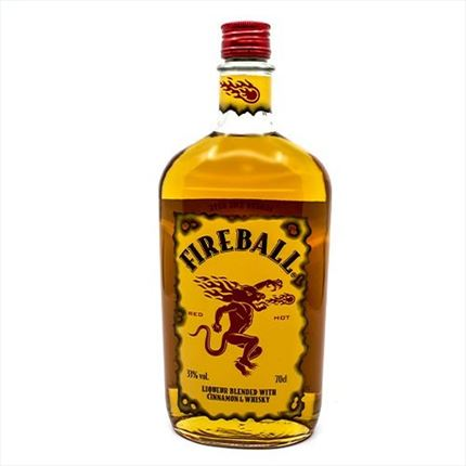 FIREBALL LICOR 70CL