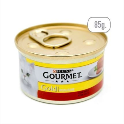 FRISKIES G.GOLD  MOUSSE BOU 85GR