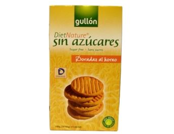 GULLON DIET NATURE DORADA 330G