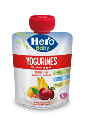 HERO BABY?POUCH YOGUR MULTIFRU