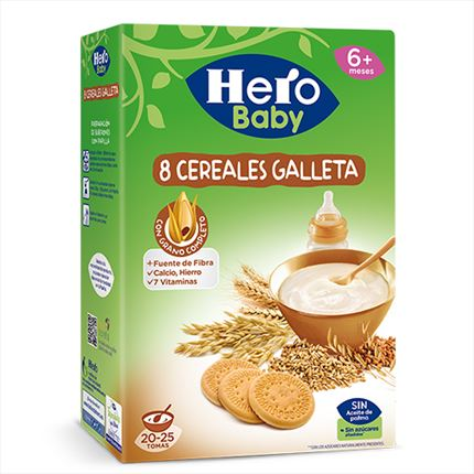 HERO PAPILLA CEREAL GALET