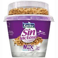 KAIKU IOGURT MIX NATURAL/MUESLI S/LACTOSA 175GR
