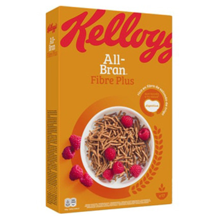 KELLOGG'S ALL-BRAN PLUS CEREALS 500GR