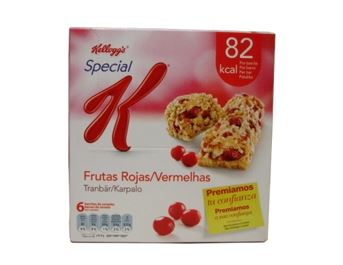 KELLOGGS BARRETA FRUITS VERMELLS 129GR