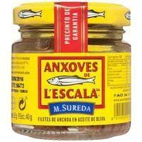 L'ESCALA?FILETS ANXOVES 85G