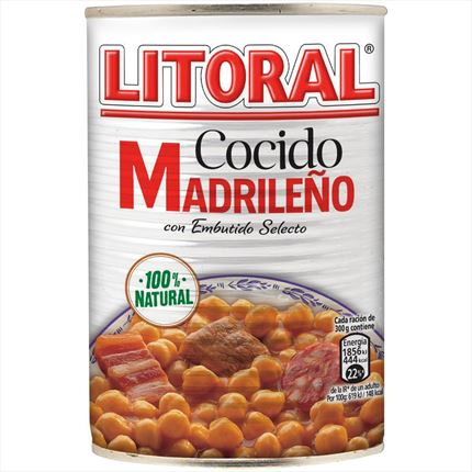 LITORAL COCIDO MADRILE?O 440GR