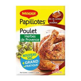 MAGGI PAPILLOTES F.HERBES 34GR