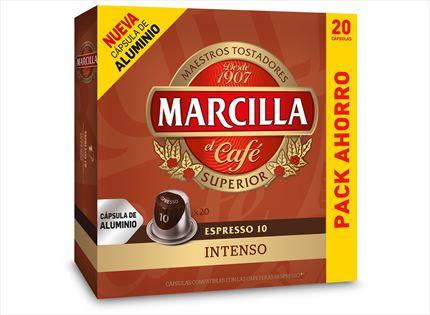 MARCILLA CAFE  INTENS X20