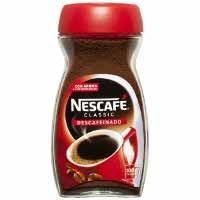 NESCAFE CAFE SOLUBLE DESCAFEINAT 200GR