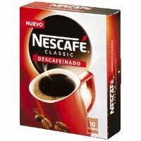 NESCAFE CAFE SOLUBLE DESCAFEINAT X10 200GR