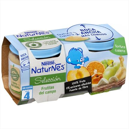 NESTLE FRUITES DEL CAMP 2X200G
