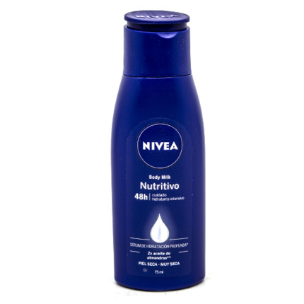 NIVEA--BODY MILK NUTRITIU.
