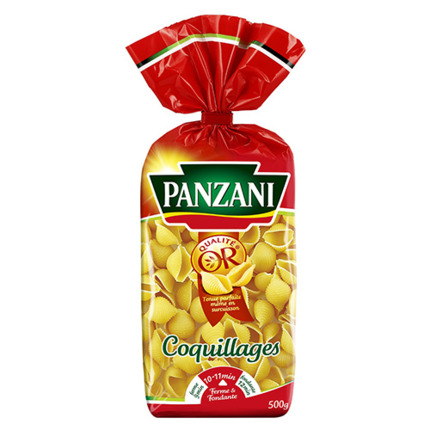 PANZANI COQUILLAGES 500GR