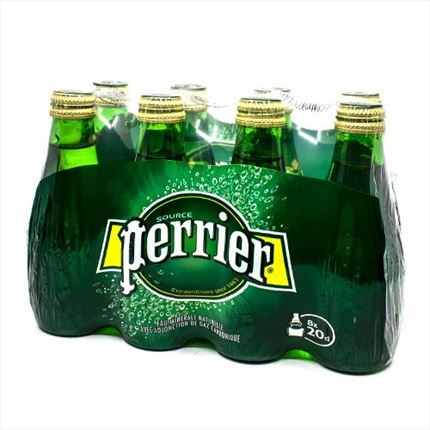 PERRIER NATURE BLE 8X20CL