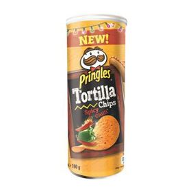 PRINGLES TORTILLA SPICY CHILLI 160G