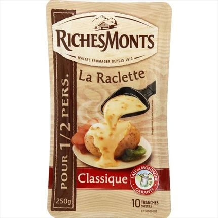 RICHESMONT RACLETTE NATURAL 250GR