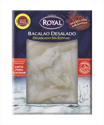 ROYAL BACALLA ESQUEIXAT 250GR