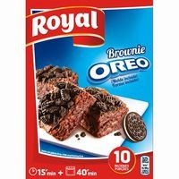 ROYAL BROWNIE OREO  375GR