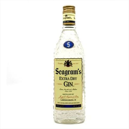 SEAGRAMS GINEBRA 70CL.