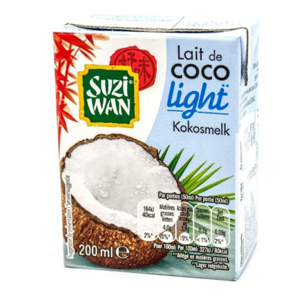 S.WAN LLET COCO LIGHT 200ML