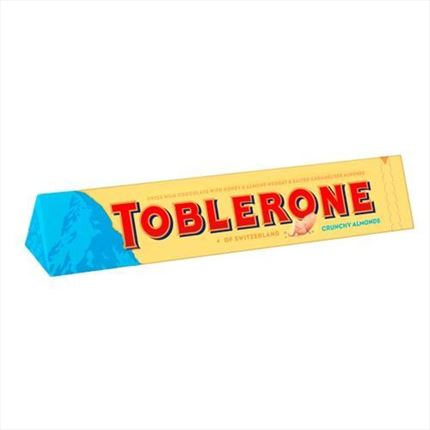 TOBLERONE CRUNCHY ALMONDS 100GR